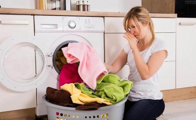 белье пахнет после стирки