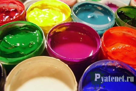 как удалить старые пятна краски