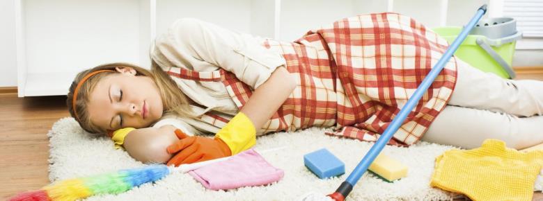 идеи для нескучной уборки