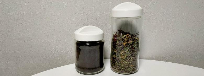 хранить чай в стеклянной банке