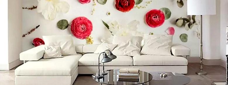 7 способов задекорировать стену над диваном