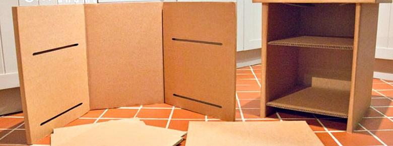что можно сделать из обычных коробок