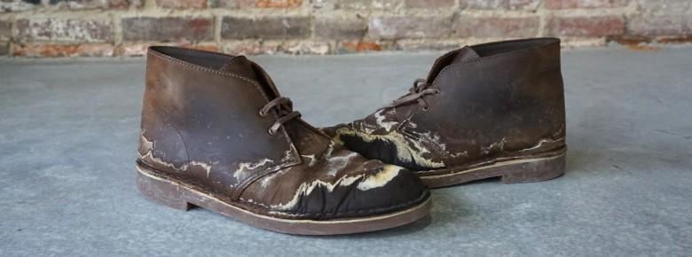 способов выведения соли с обуви