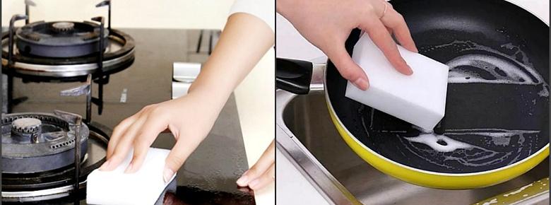 Как пользоваться меламиновой губкой без вреда