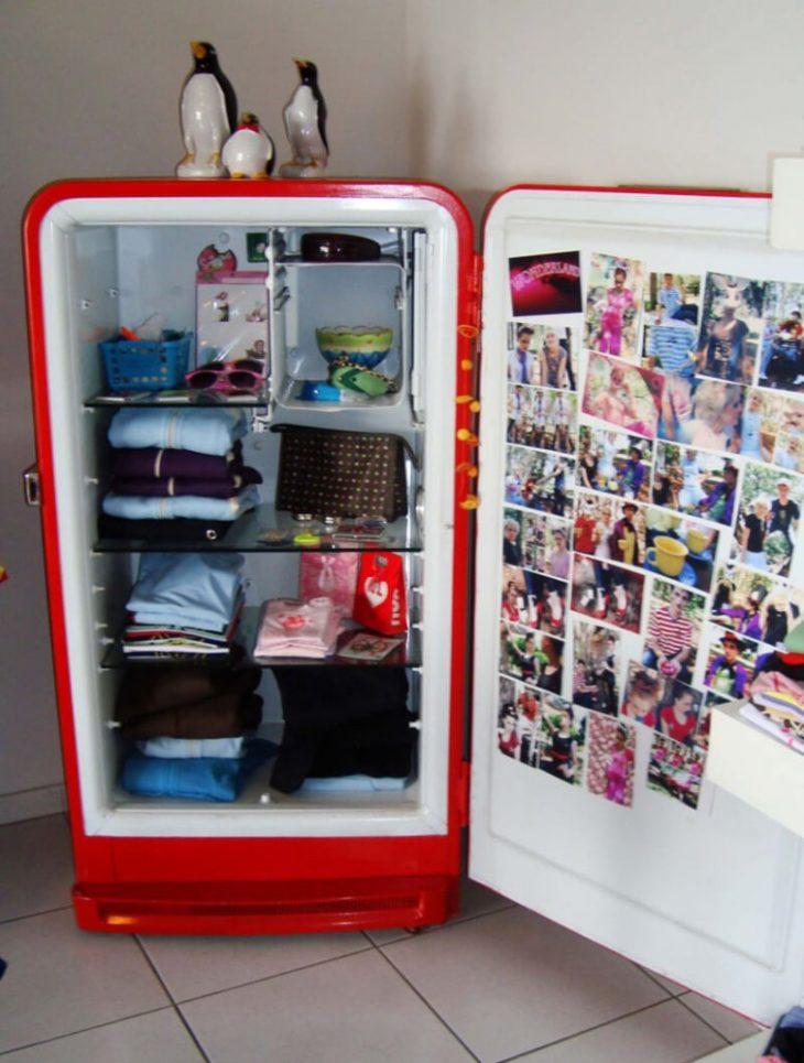 холодильник вместо шкафа