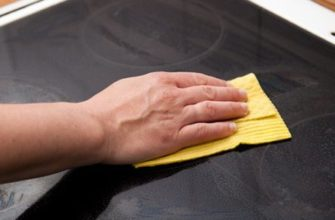 Как очистить стеклокерамическую плиту