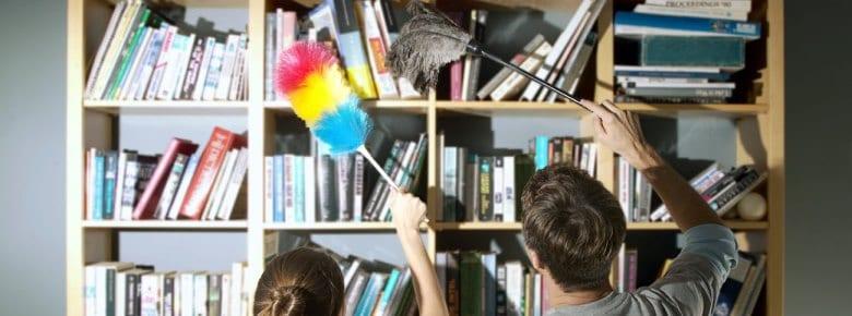 5 методов очистки книг от загрязнений
