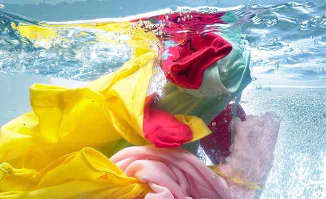 Чистка цветной одежды