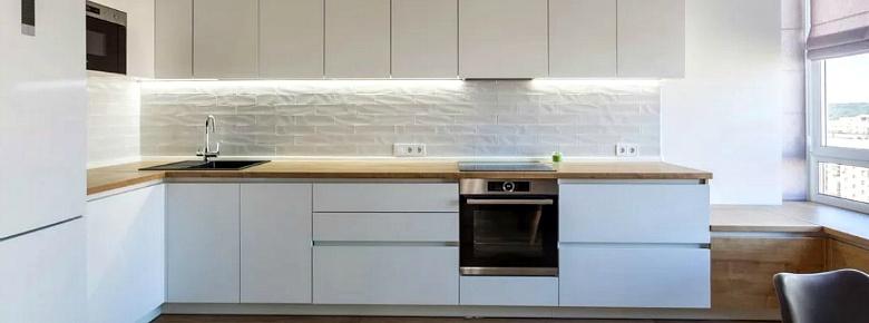 Как правильно ухаживать за матовым белым фасадом кухонного гарнитура