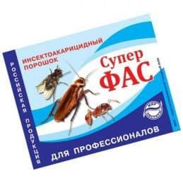 Инсектицид ФАС против тараканов