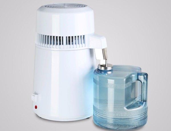 Обычно дистиллятор используют для техники где необходимо использование воды
