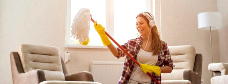 Как правильно производить влажную уборку в квартире