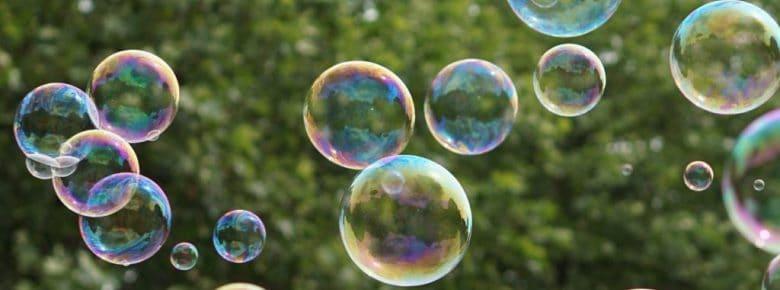 Рецепты мыльных пузырей для дома
