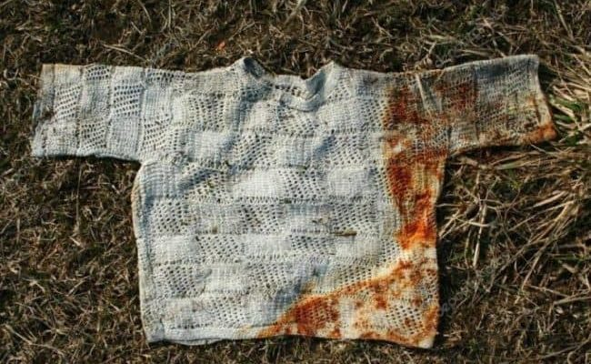 Как отстирать ржавчину с белой и цветной одежды