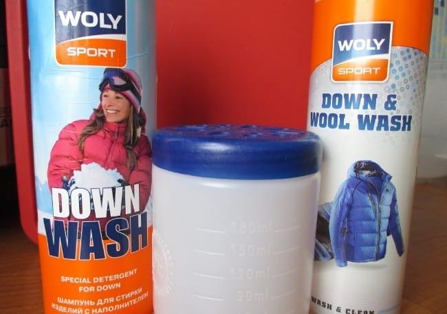 Это специальное моющее средство для всех вещей из натурального пуха и пера, а также мембранных покрытий
