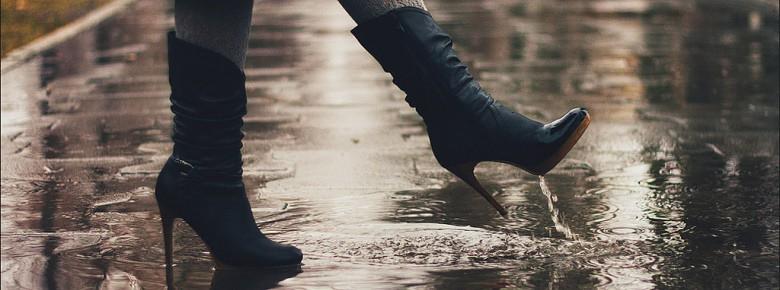 Чем пропитать обувь из замши, нубука и кожи от промокания