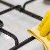 Как почистить решётку газовой плиты