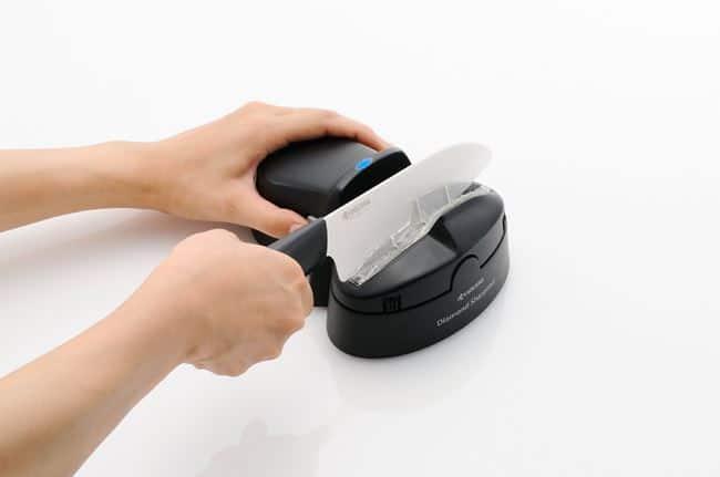 Как заточить керамический нож: устройства и способы
