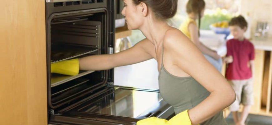 Каталитическая очистка духовки