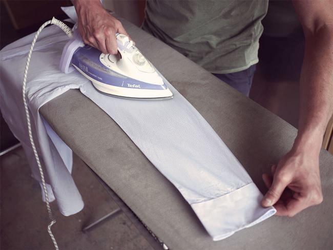 7 секретов идеальной глажки рубашки с длинным рукавом