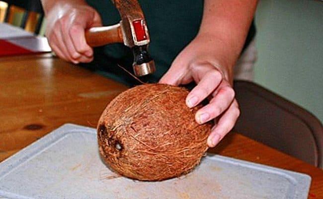 5 способов правильно и быстро очистить кокос