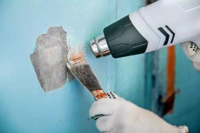 3 проверенных способа удаления старой краски со стен