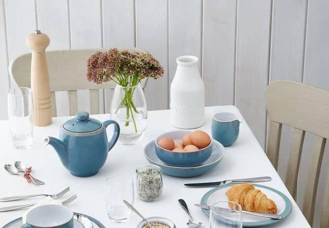 Как накрыть стол к завтраку