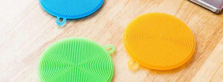 Силиконовая тёрка для мытья овощей и фруктов