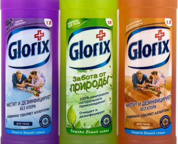Чистый пол с Glorix – быстро, выгодно, легко