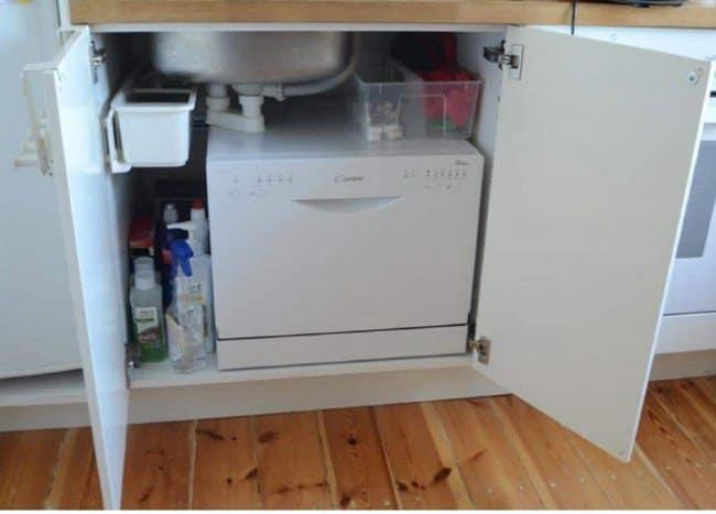 Габариты встраиваемых посудомоечных машин