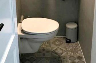 Что сделать с унитазом в маленьком туалете