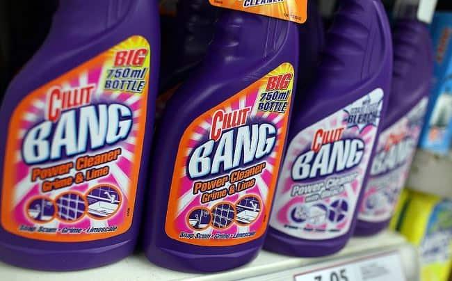 Cillit Bang для чистки кухни, ванной, туалета