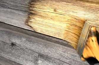 5 шагов по спасению древесины от сажи